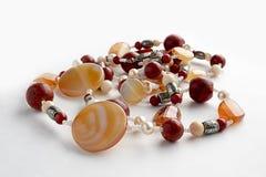 Gotas de piedras semipreciosas imagen de archivo