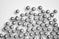 Gotas de plata Fotografía de archivo libre de regalías