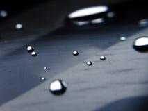 Gotas de prata Fotos de Stock