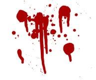 Gotas de sangre Foto de archivo libre de regalías