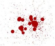 Gotas de sangre Fotografía de archivo