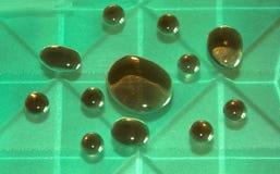 Gotas de um xarope de açúcar Imagens de Stock