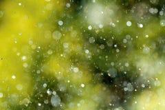 Gotas del aerosol de agua Imagen de archivo libre de regalías