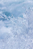 Gotas del agua foto de archivo libre de regalías