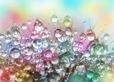 Gotas del agua Foto de archivo