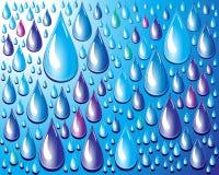Gotas del agua. Foto de archivo libre de regalías