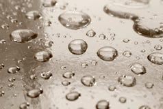 Gotas del agua Imagen de archivo libre de regalías