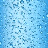 Gotas del agua ilustración del vector