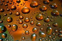 Gotas del agua Fotos de archivo