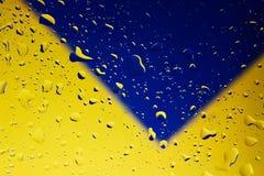 Gotas del agua Imagen de archivo