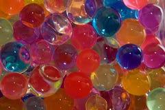 Gotas del hidrogel Fotos de archivo