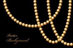 Gotas del oro Foto de archivo