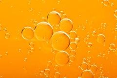 Gotas del petróleo Imágenes de archivo libres de regalías
