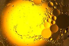 Gotas del petróleo Foto de archivo