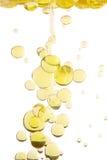 Gotas del petróleo Fotografía de archivo libre de regalías