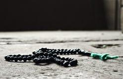 Gotas del rosario imagen de archivo