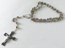 gotas del rosario del collar fotos de archivo libres de regalías