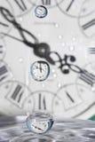 Gotas del tiempo. Foto de archivo libre de regalías