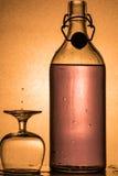 Gotas do álcool foto de stock royalty free