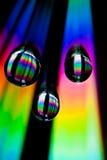 Gotas do arco-íris Imagem de Stock Royalty Free