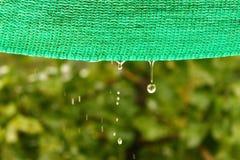 Gotas do elemento precioso - Aqua Imagens de Stock