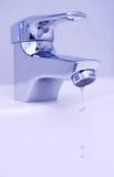 Gotas do faucet Imagem de Stock