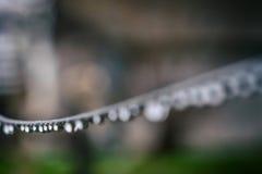 Gotas do fio Imagem de Stock