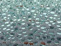 Gotas do jade Imagens de Stock