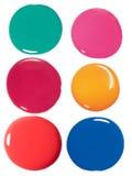 Gotas do lustrador de prego Imagens de Stock Royalty Free