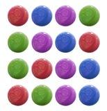 Gotas do lustrador de prego colorido Imagem de Stock
