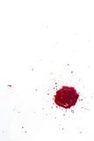 Gotas do sangue Imagens de Stock