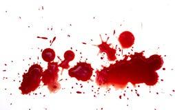 Gotas do sangue Imagens de Stock Royalty Free