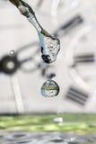 Gotas do tempo. imagens de stock royalty free