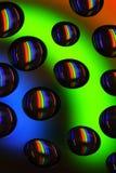 Gotas en DVD Foto de archivo