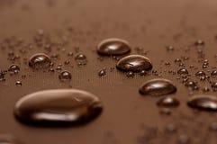 Gotas frisadas da água Foto de Stock Royalty Free