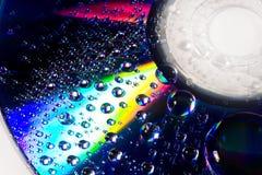 Gotas hermosas del agua foto de archivo