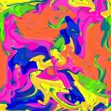 Gotas heterogéneos da pintura Imagens de Stock