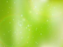 Gotas naturales del agua sobre el vidrio EPS10 más ilustración del vector