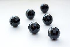Gotas negras Fotos de archivo