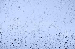 Gotas no vidro Imagem de Stock