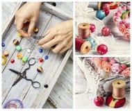 Gotas para la joyería Imagen de archivo libre de regalías