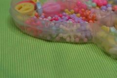 Gotas para las pulseras handmade foto de archivo