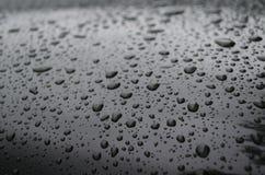Gotas refletidas Fotografia de Stock