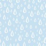 Gotas sem emenda do teste padrão Imagens de Stock