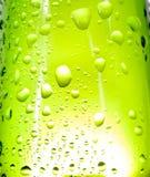 Gotas verdes Fotos de Stock