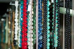 Gotas y collares coloridos - 5 Imágenes de archivo libres de regalías