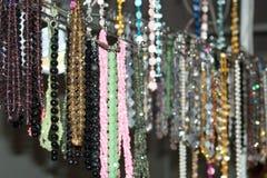 Gotas y collares coloridos - 3 Fotografía de archivo