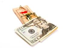 Gotcha! Money Trap! Stock Photo