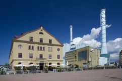 Goteborg - heating plant and lagerhaus Stock Image