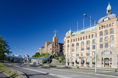 Goteborg street Royalty Free Stock Photo